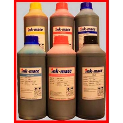 Zestaw 6x100ml atrament INK-MATE barwnikowy do Epson seria P/R/RX/XP/L